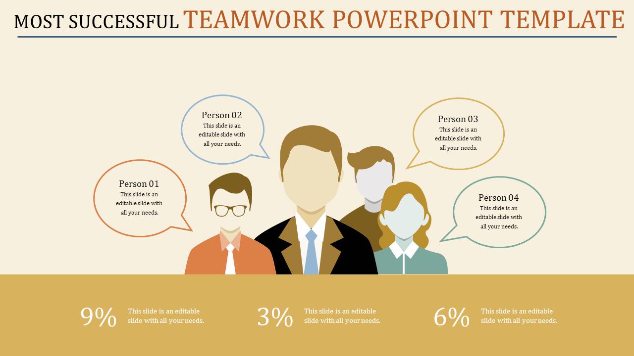 Communication Teamwork Powerpoint Template