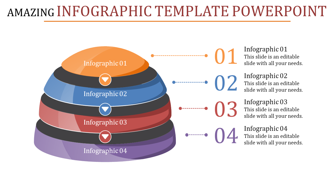 High-quality Infographic Template Powerpoint