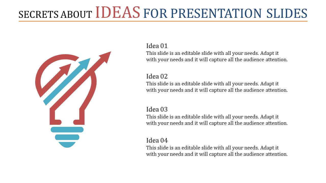 Succeeding Ideas For Presentation Slides