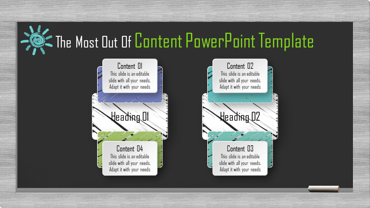 Amazing Business Content Powerpoint Template