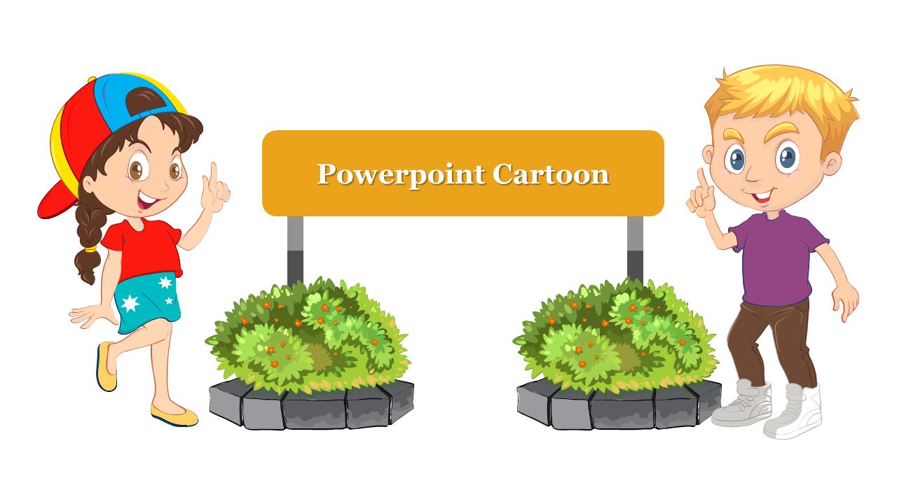Powerpoint Cartoon Design Slideegg