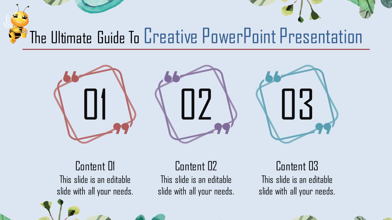 Fascinating Creative Powerpoint Presentation