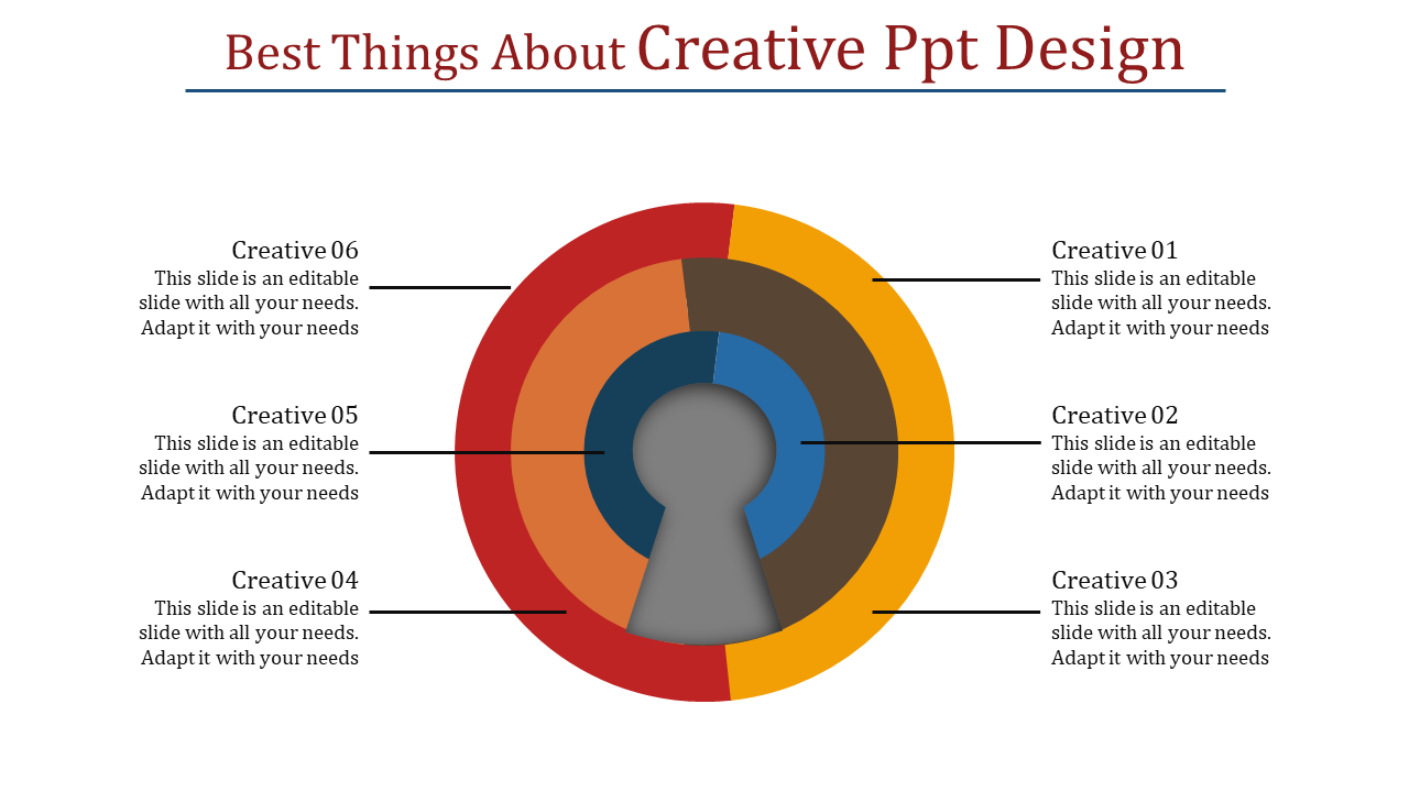 Keyhole Creative PPT Design Presentation