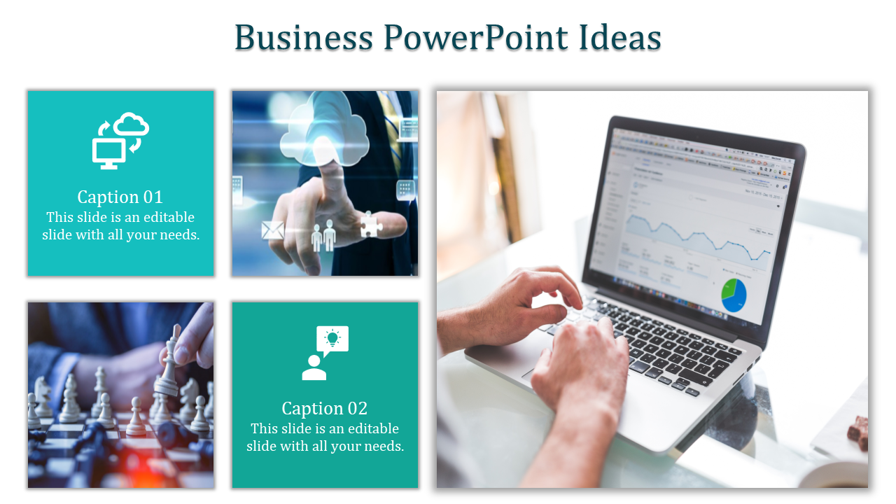 A two noded business powerpoint ideas