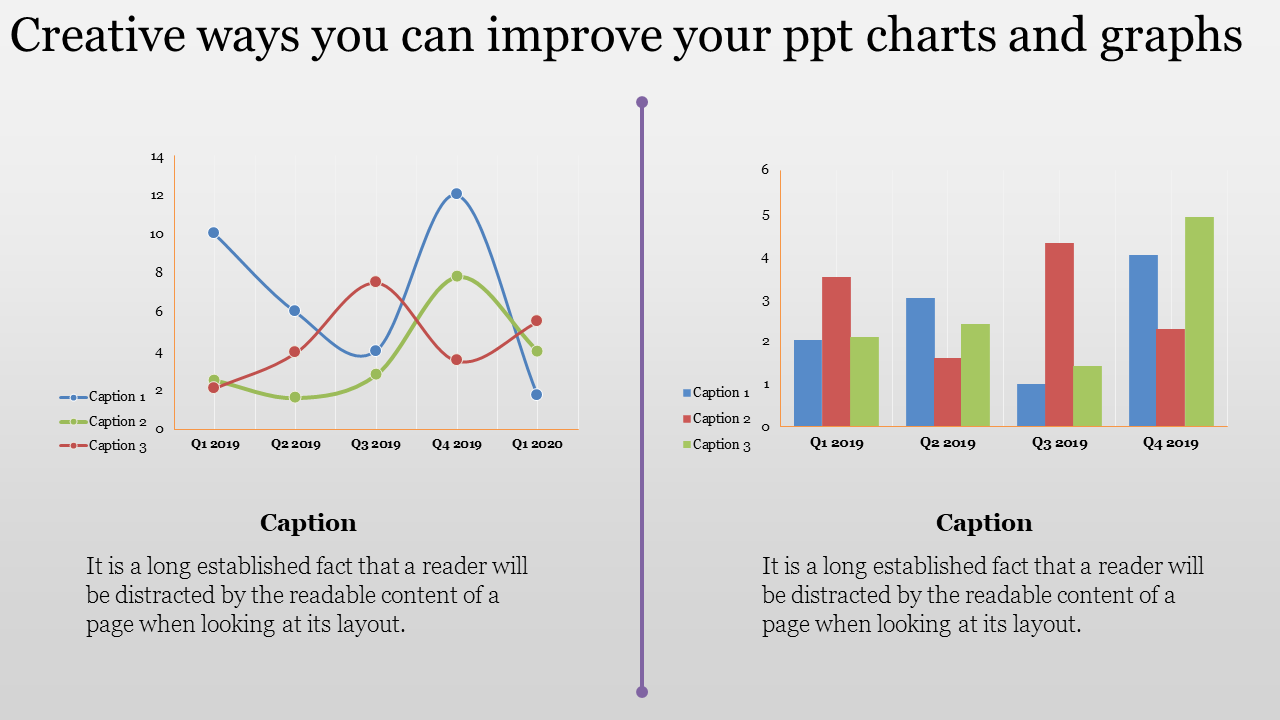 PPT charts and graphs
