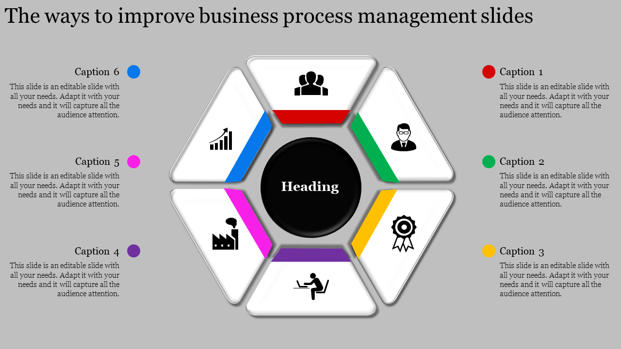 Editable best business process management slides
