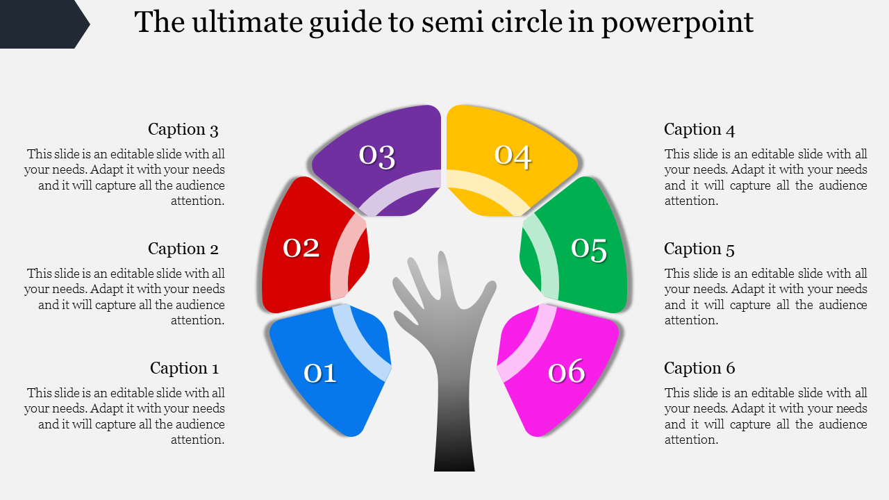 Master The Art Of Semi Circle In Powerpoint