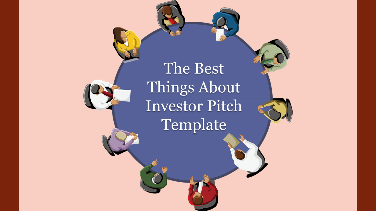 Top View Investor Pitch Template