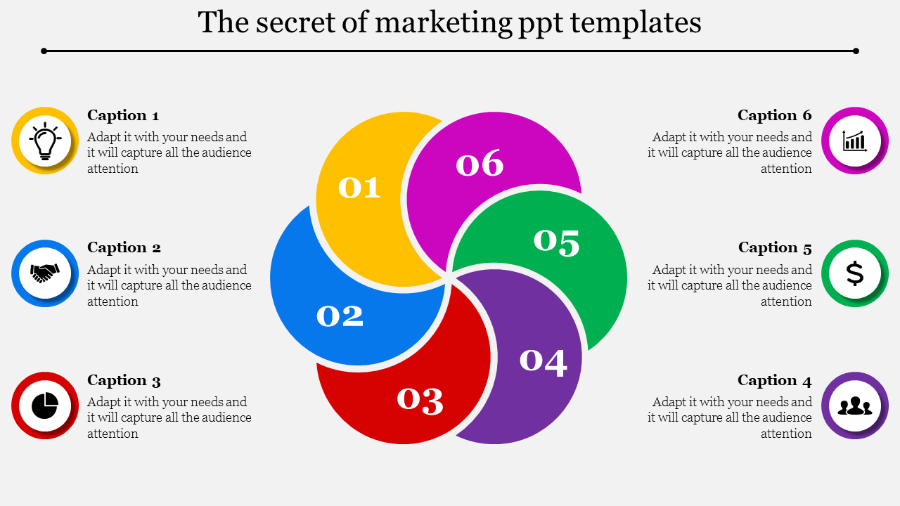 Process Marketing PowerPoint Templates