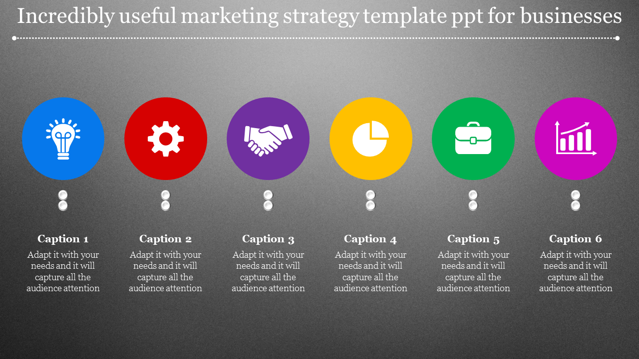 Marketing Strategy Template PPT