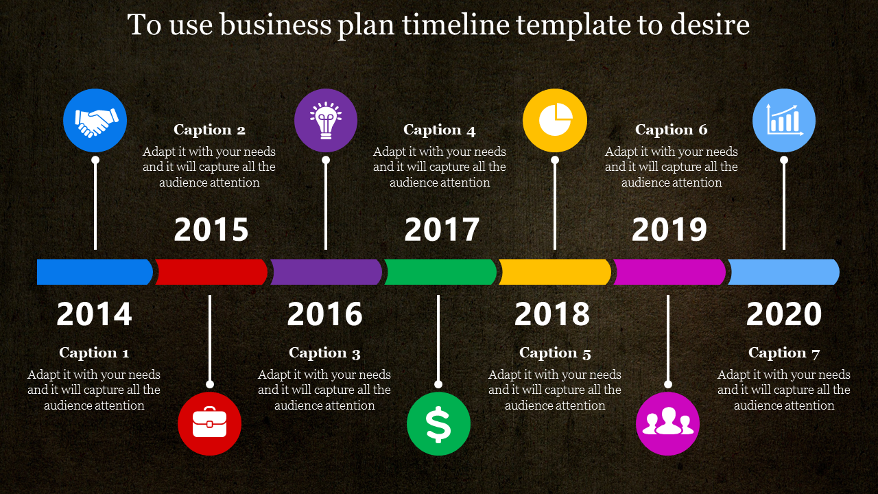 Process Business Plan Timeline Template