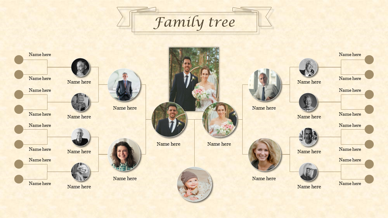 Family Tree Pictures Template from www.slideegg.com