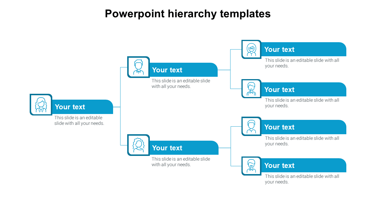 Powerpoint Hierarchy Templates