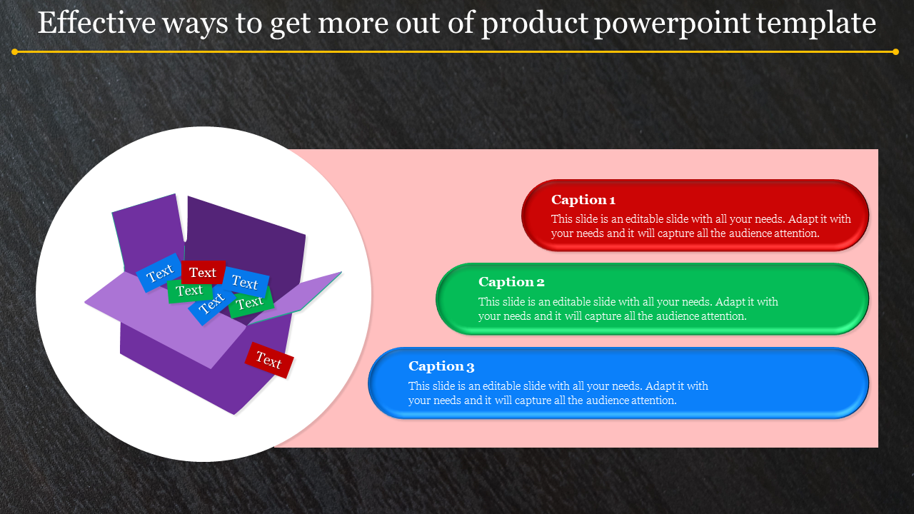 product powerpoint template