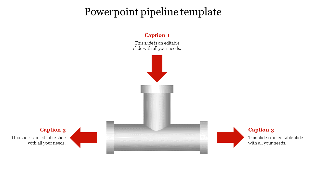 Powerpoint Pipeline Template Slideegg