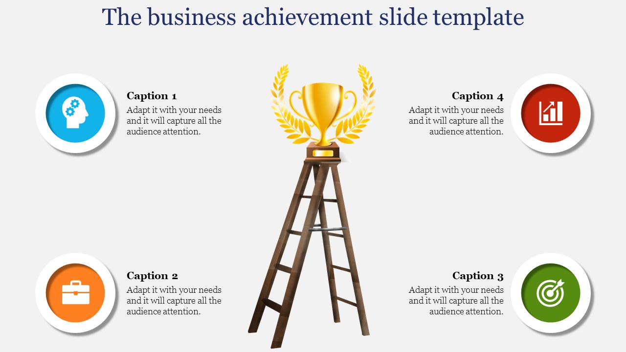 Top Business Achievement Slide Template