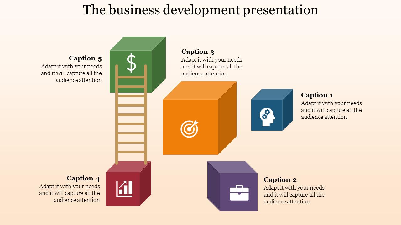 Cubical Model Business Development Presentation