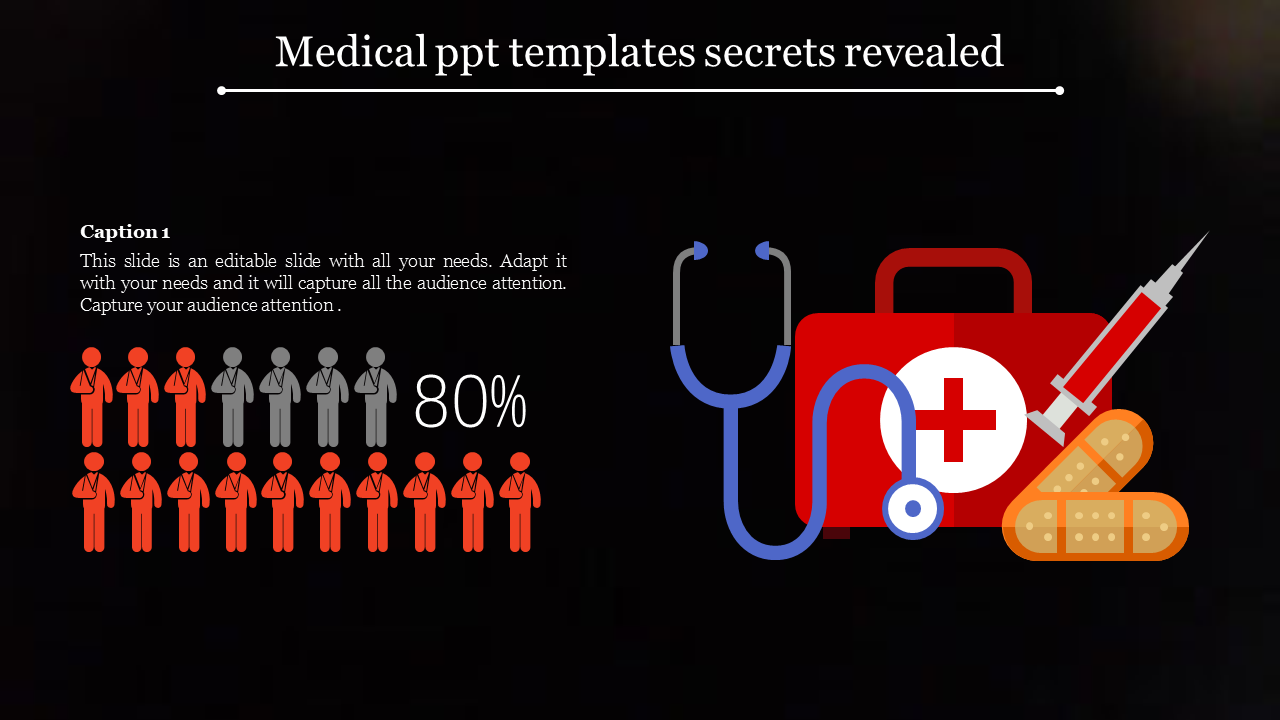 medical powerpoint templates - medical icons