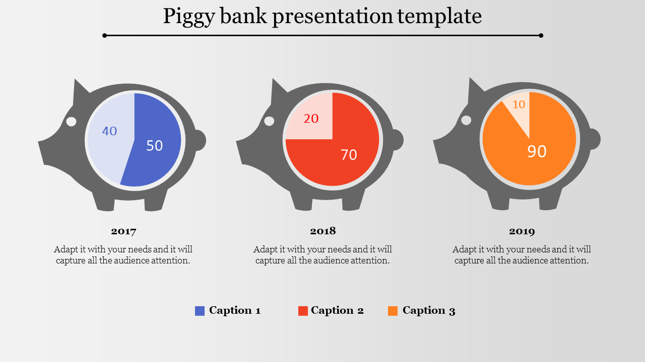 Bank presentation template-fish model