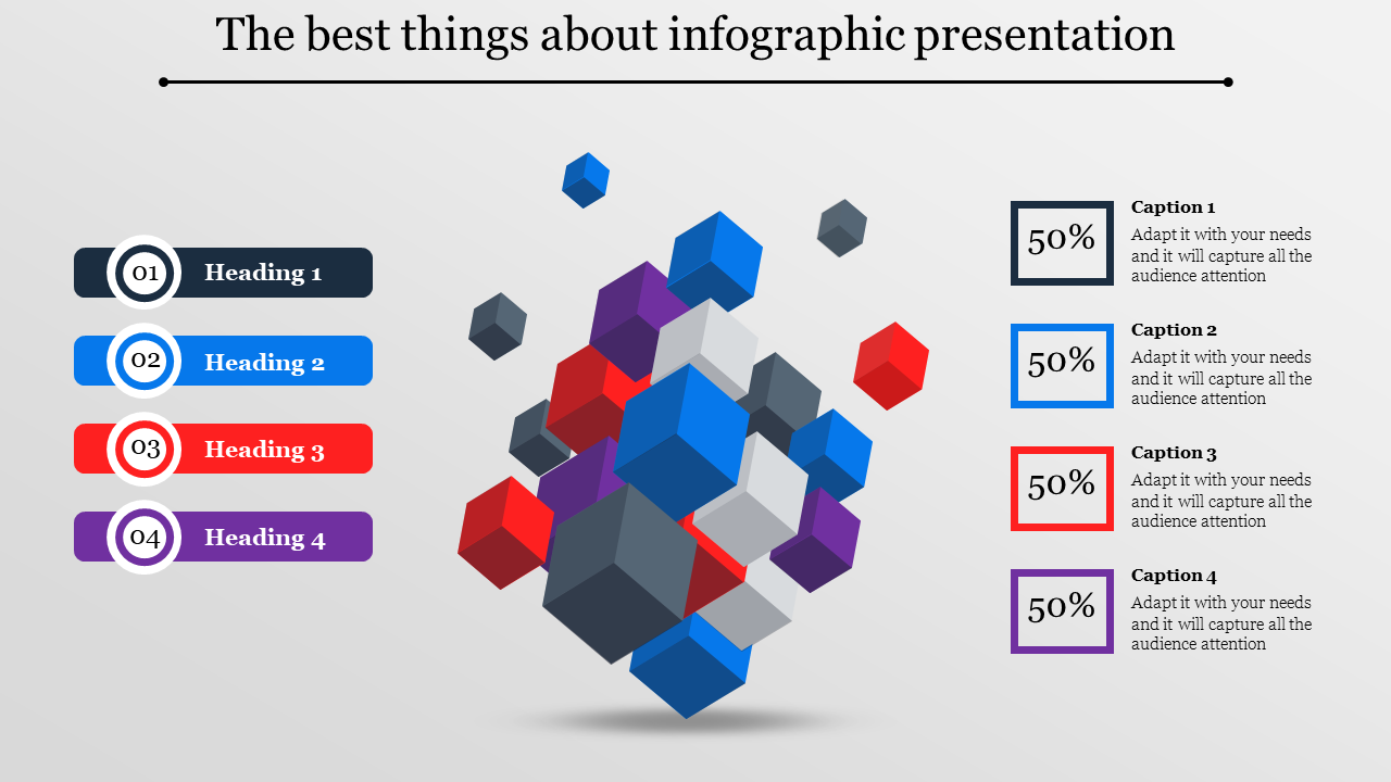 Infographic Presentation - Cubes