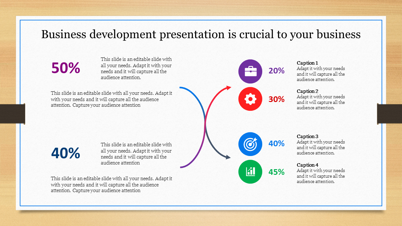 Business Development Presentation - Chart