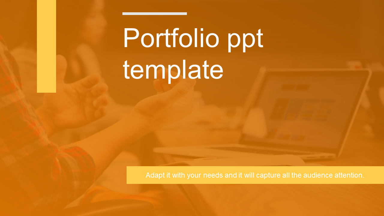 Official portfolio template powerpoint