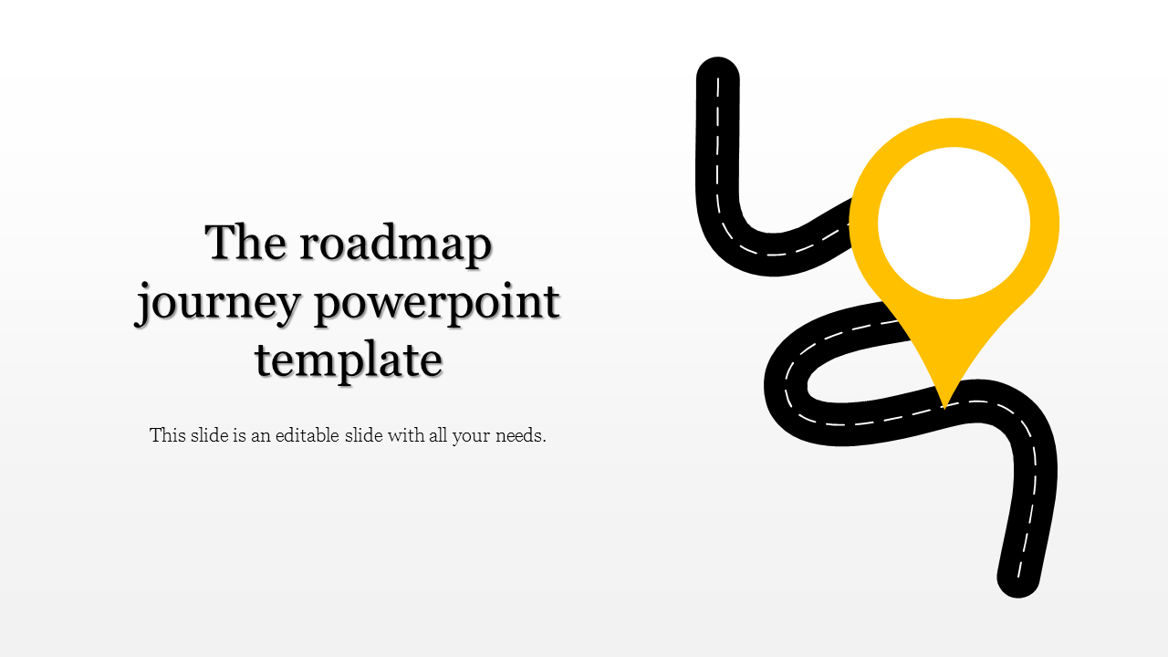 Roadmap Journey Powerpoint Template Slideegg