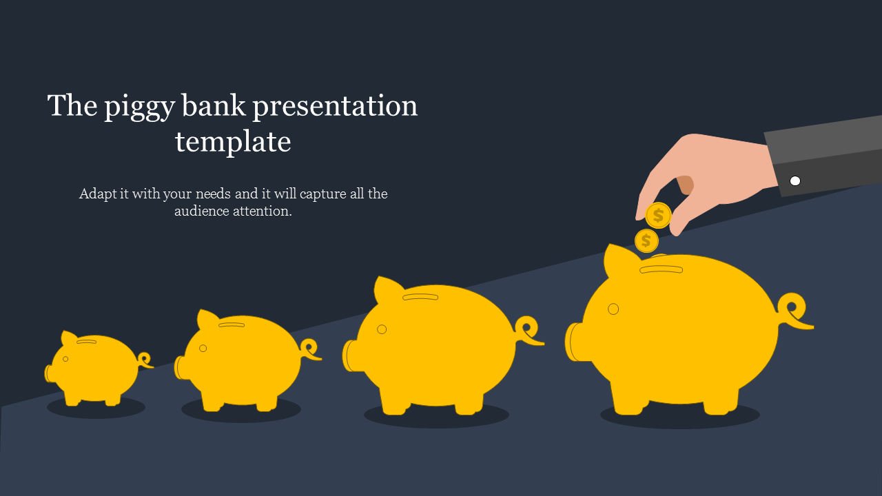 A one noded bank presentation template