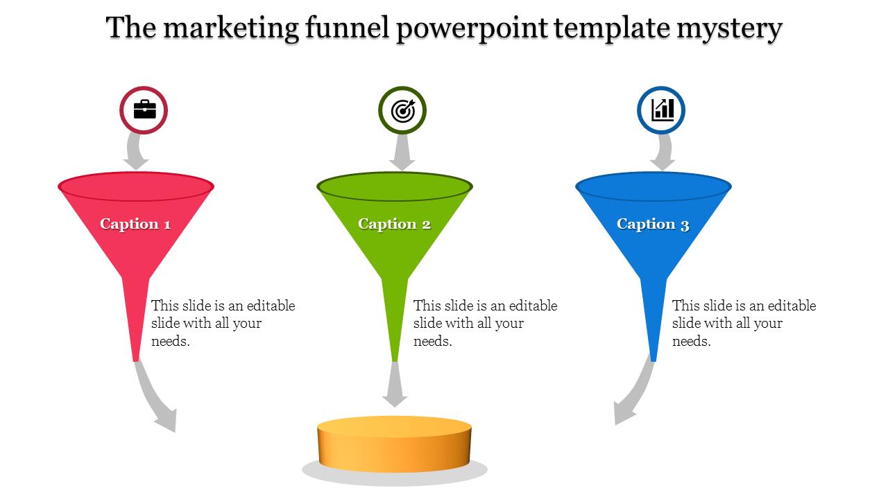 Marketing Funnel Powerpoint Template - Filter Model