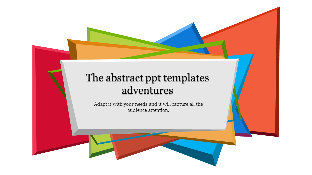 Colorful Abstract PPT Templates