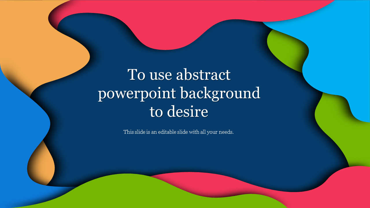 Abstract PowerPoint Background Design