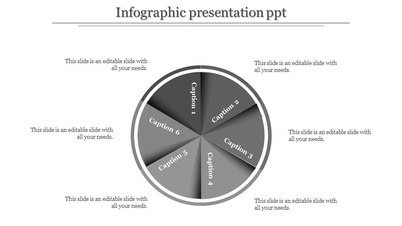 Infographic Presentation Powerpoint - Circle Model