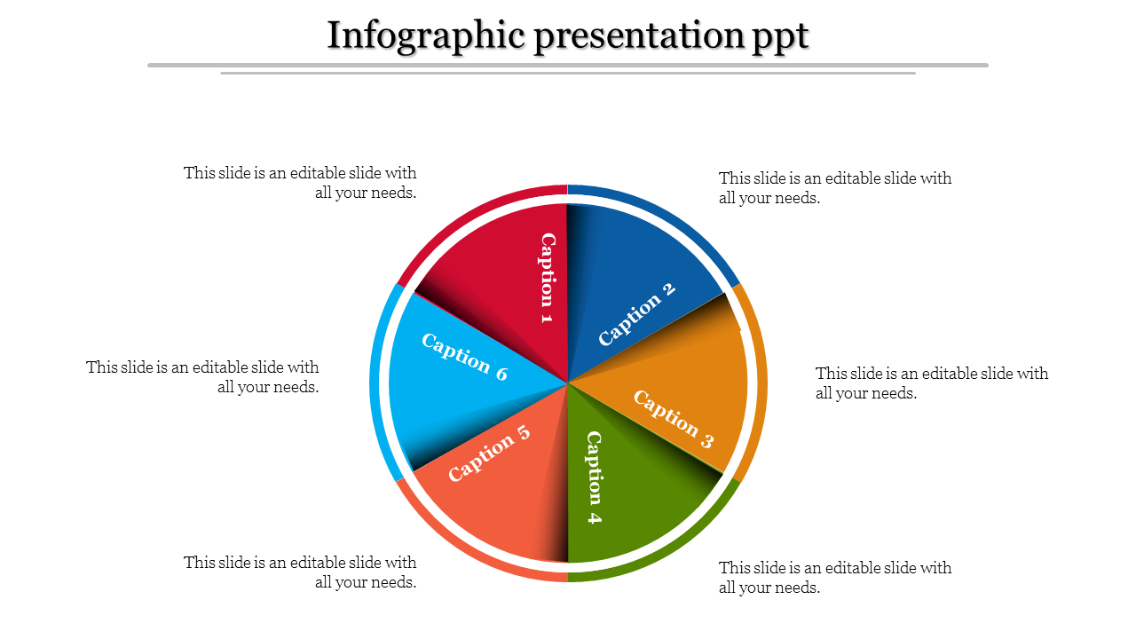 A Six Noded Infographic Presentation PPT