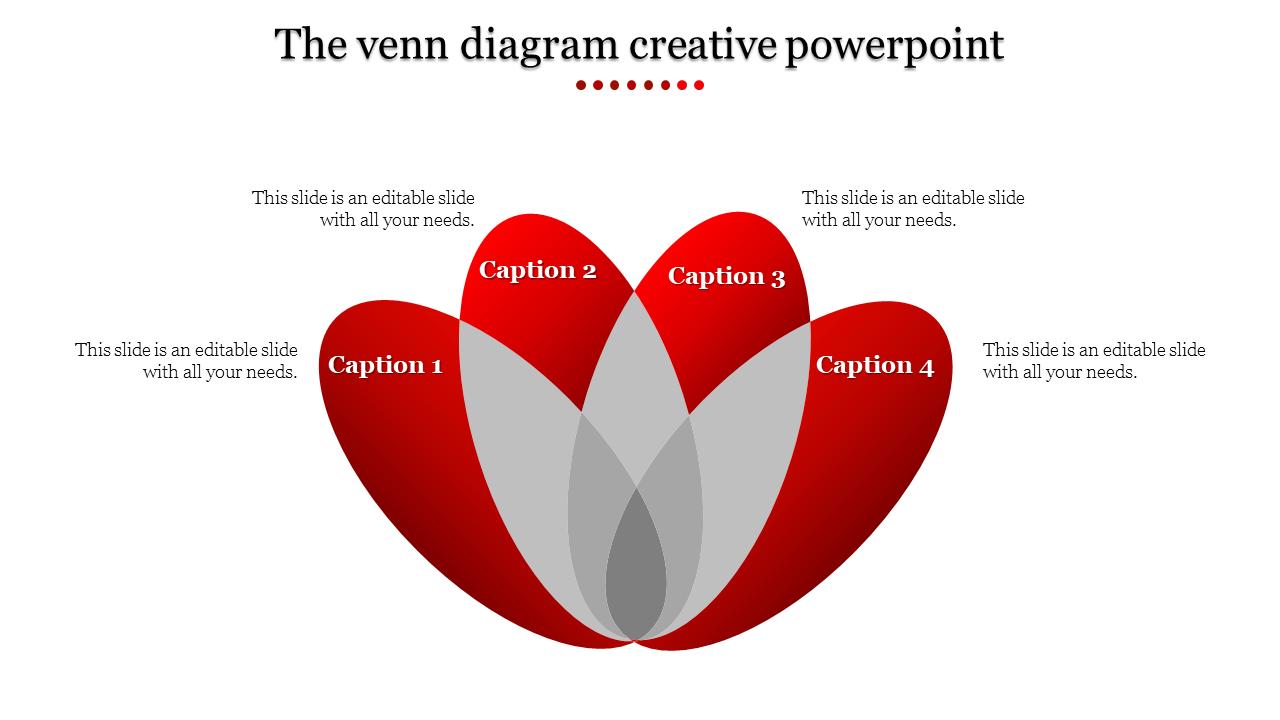 Creative Powerpoint Venn Diagram Slideegg