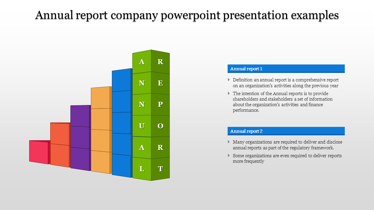 A Two Noded Company Powerpoint Presentation Examples