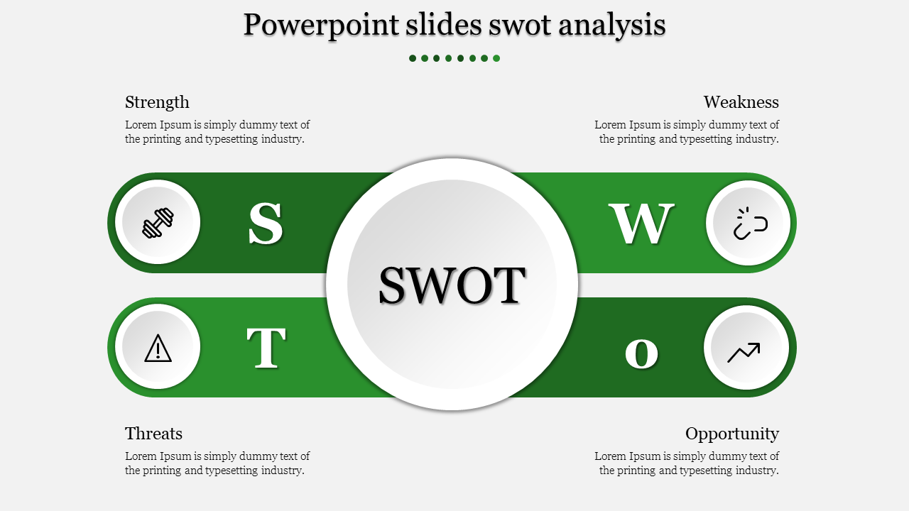 Professional Powerpoint slides swot analysis
