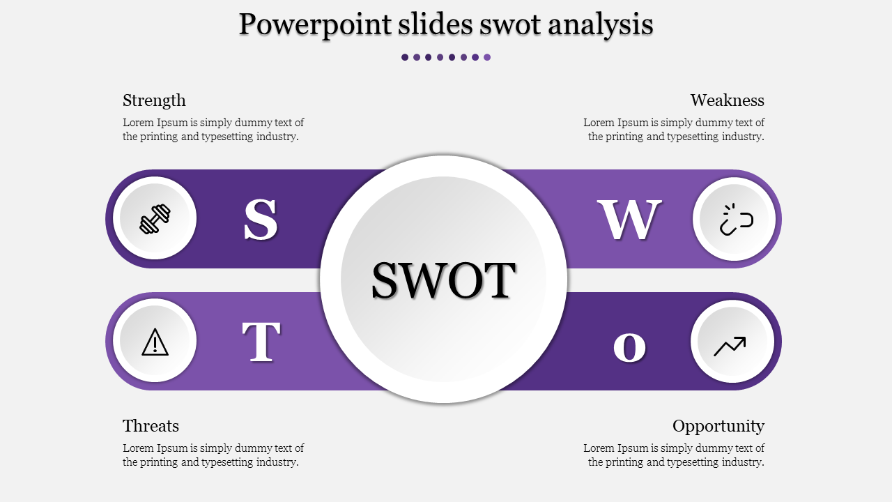 Powerpoint slides general swot analysis