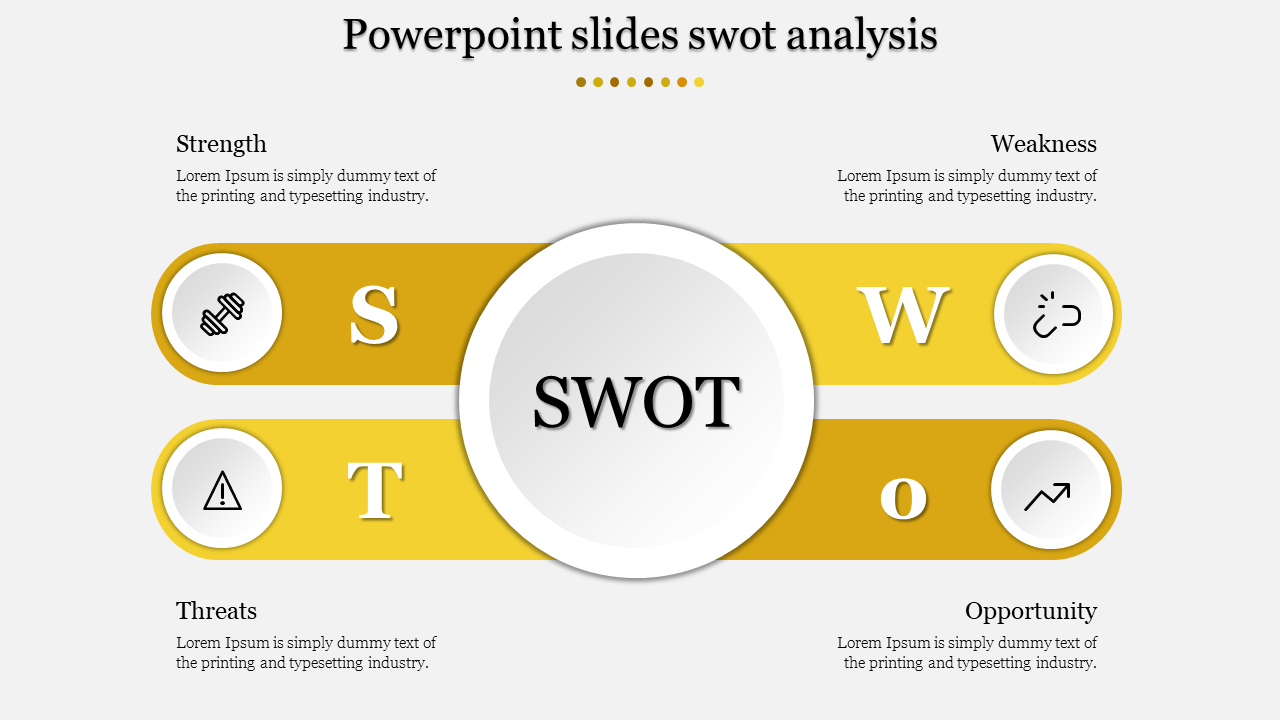 Infographic Powerpoint Slides Swot Analysis