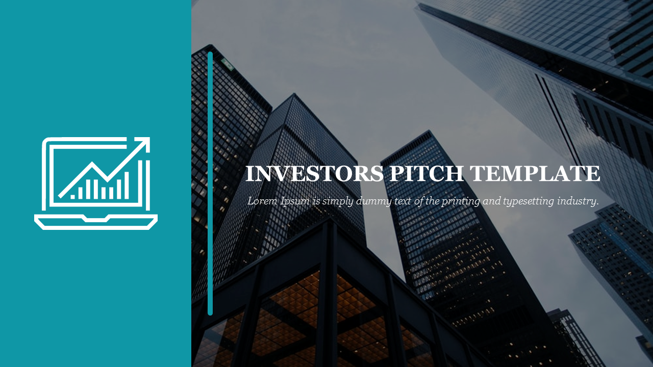 A One Noded Investor Pitch Template