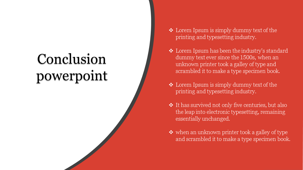 Conclusion Powerpoint For Presentation