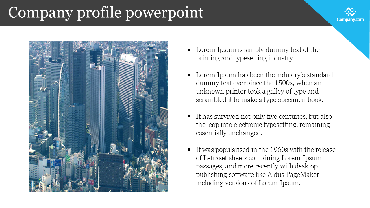 company profile powerpoint for presentation