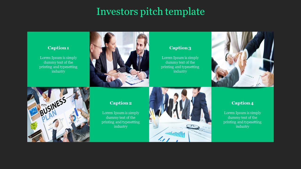 Portfolio Investor Pitch Template