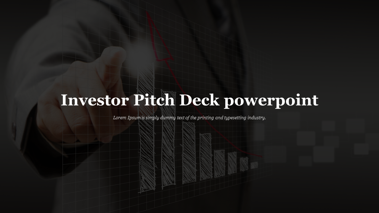 Investor Pitch Deck Powerpoint For Introduction