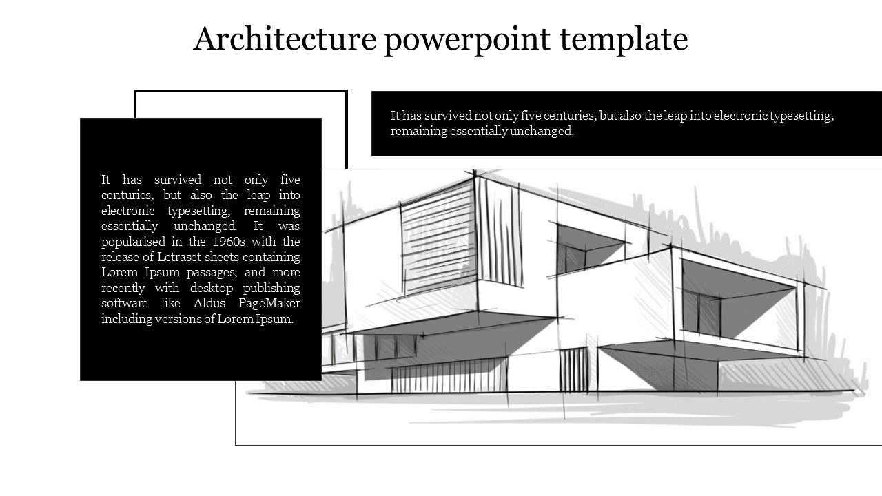 A Two Noded Architecture Powerpoint Template