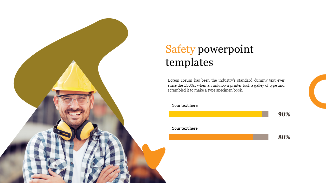 Safety powerpoint template for constrution