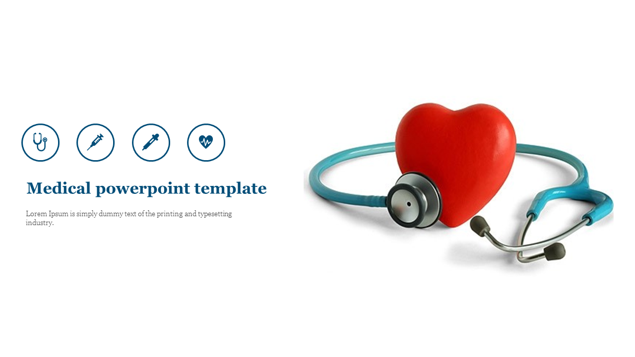 Medical powerpoint template for introduction presentation