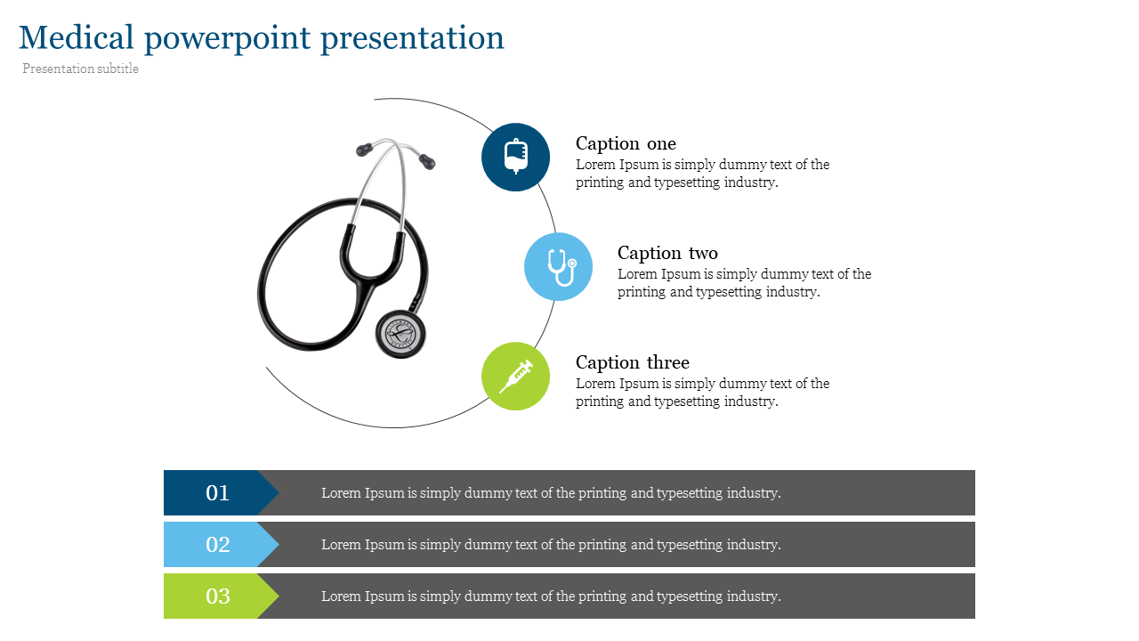 Visionary medical powerpoint presentation