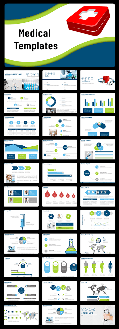 Best medical powerpoint templates presentation