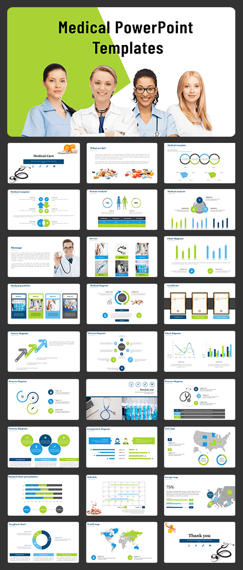 visionary Medical templates powerpoint for presentation