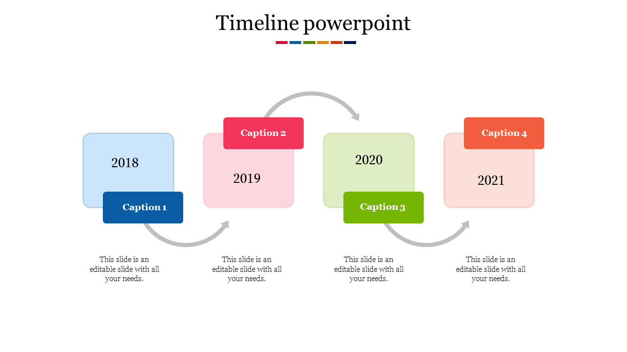 Animated Timeline Powerpoint
